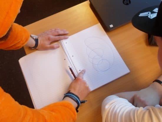 Matematikkundervisning med fine kruseduller