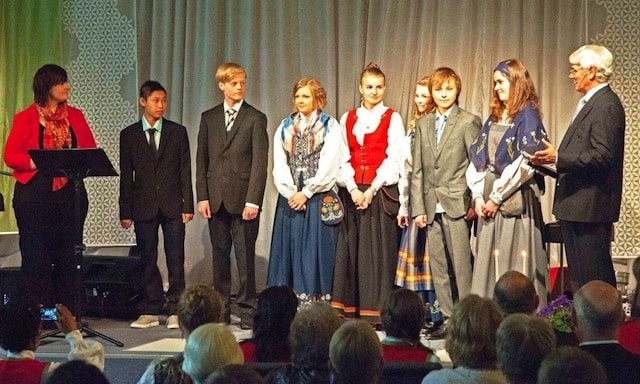 Ungdomsvelsignelsen 2012 på NOMI