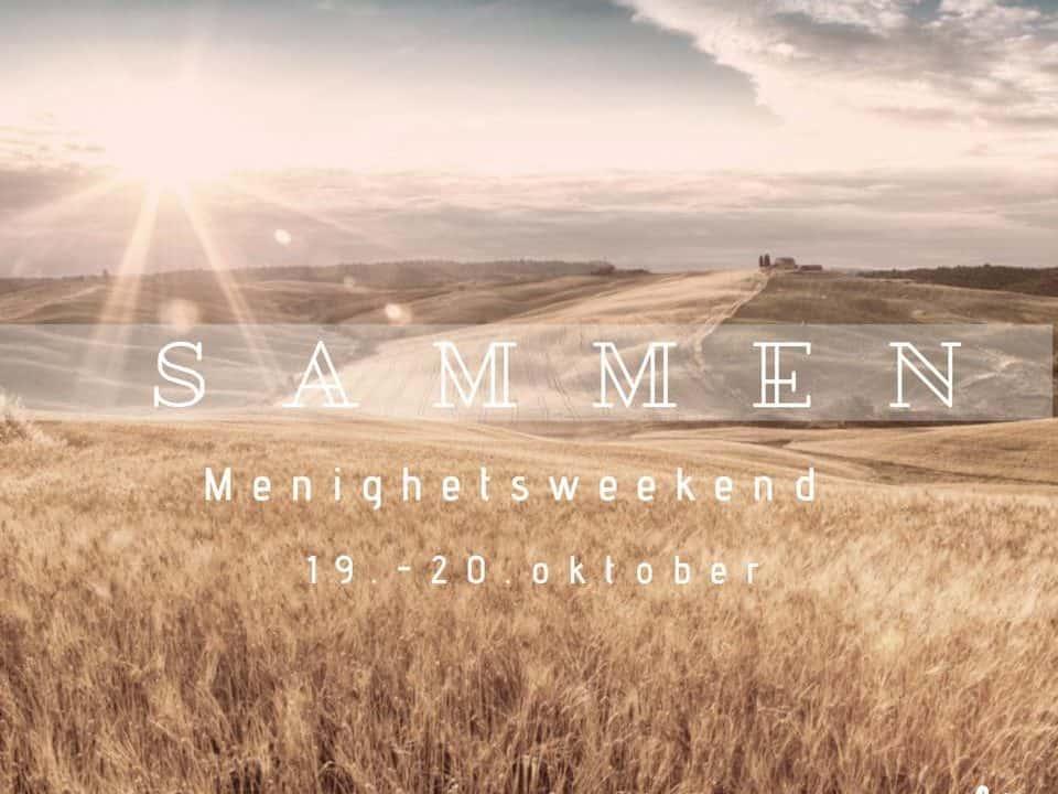 Sammen – menighetsweekend 19-20 okt på Laberget